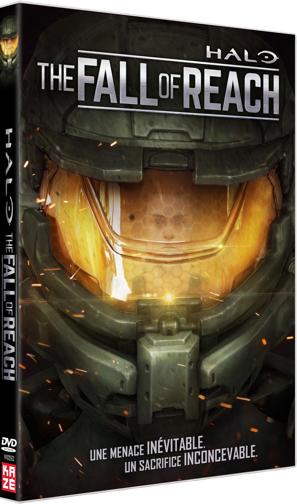 Halo - the fall of reach - le film - dvd