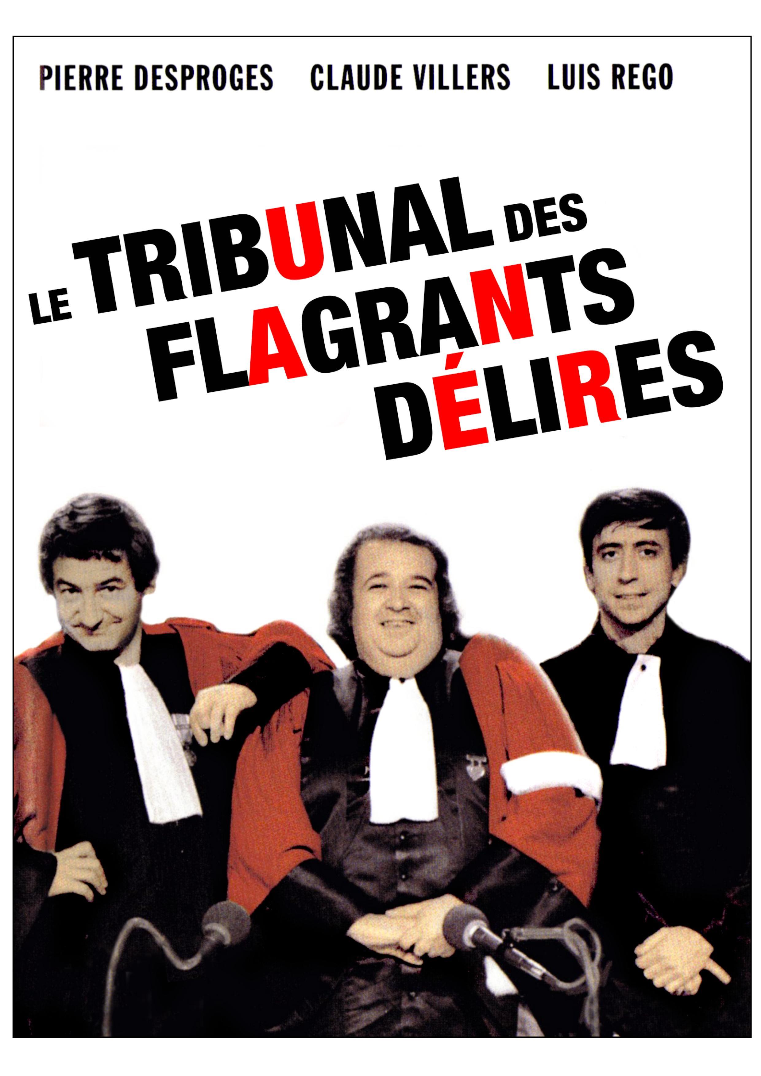 Tribunal des flagrands delires (le) - 2 dvd