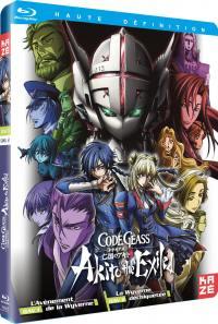 Code geass akito - the exiled - oav 1 et 2 - blu-ray