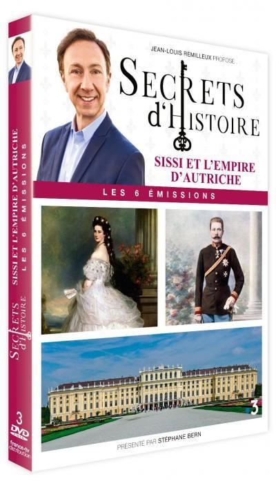 Secrets d'histoire - sissi et l'empire d'autriche - 3 dvd