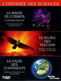 Odyssee des sciences v1-v2-v3 - 7 dvd