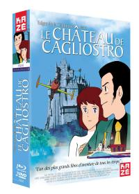 Chateau de cagliostro (le) - coffret collector 3 dvd + blu-ray