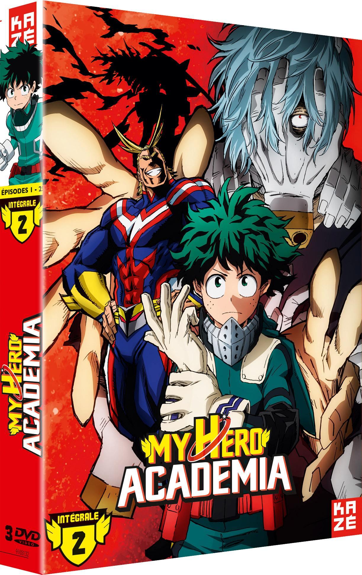 My hero academia - saison 2 - 6 dvd