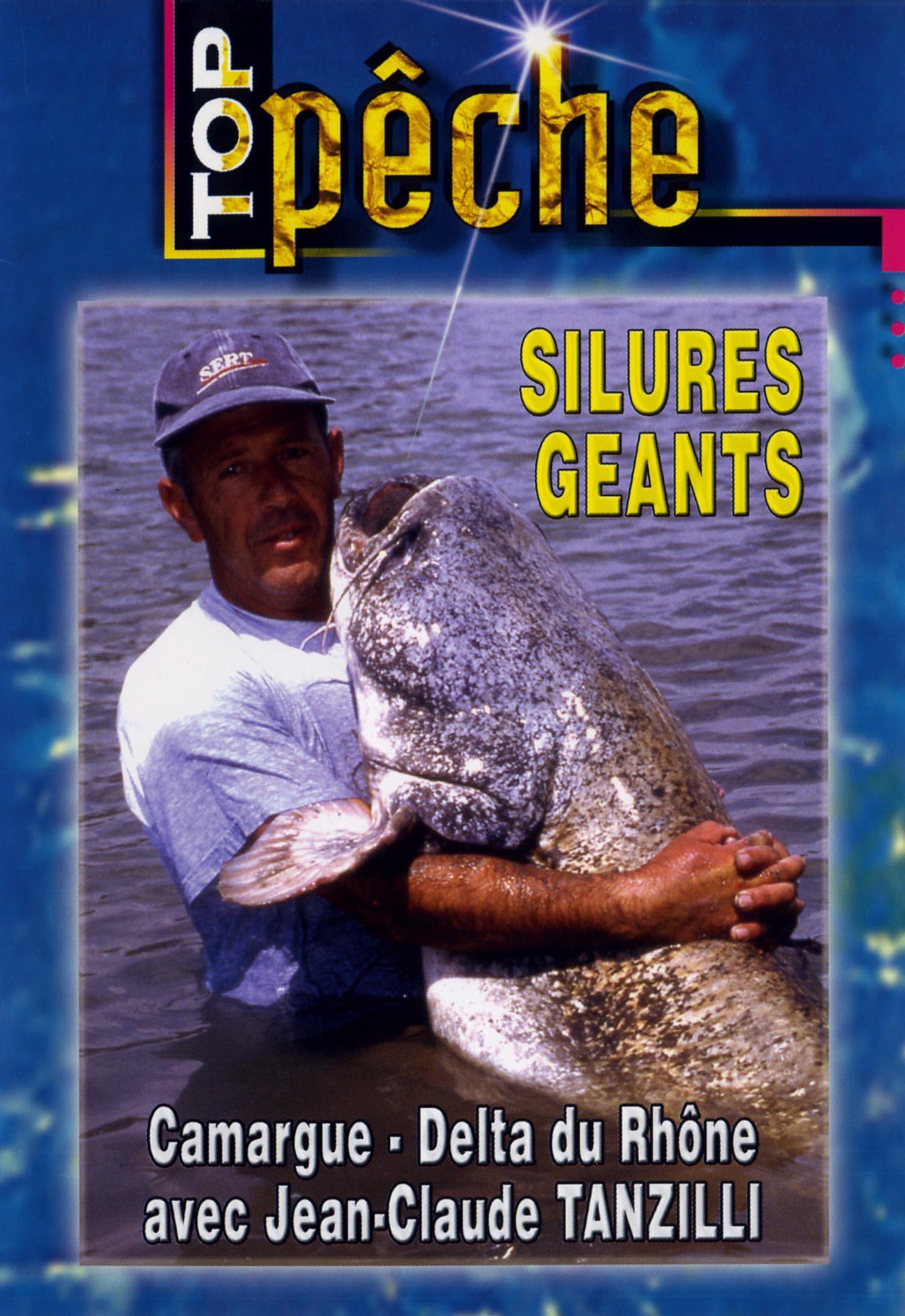 Top peche - silures geants - dvd