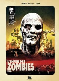 Enfer des zombies (l') - blu-ray + dvd + livre