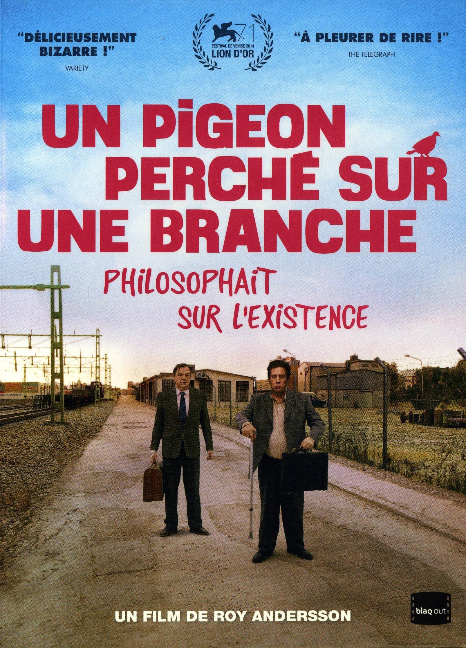 Pigeon perche sur une branche philosophait sur l'existence (un) - dvd