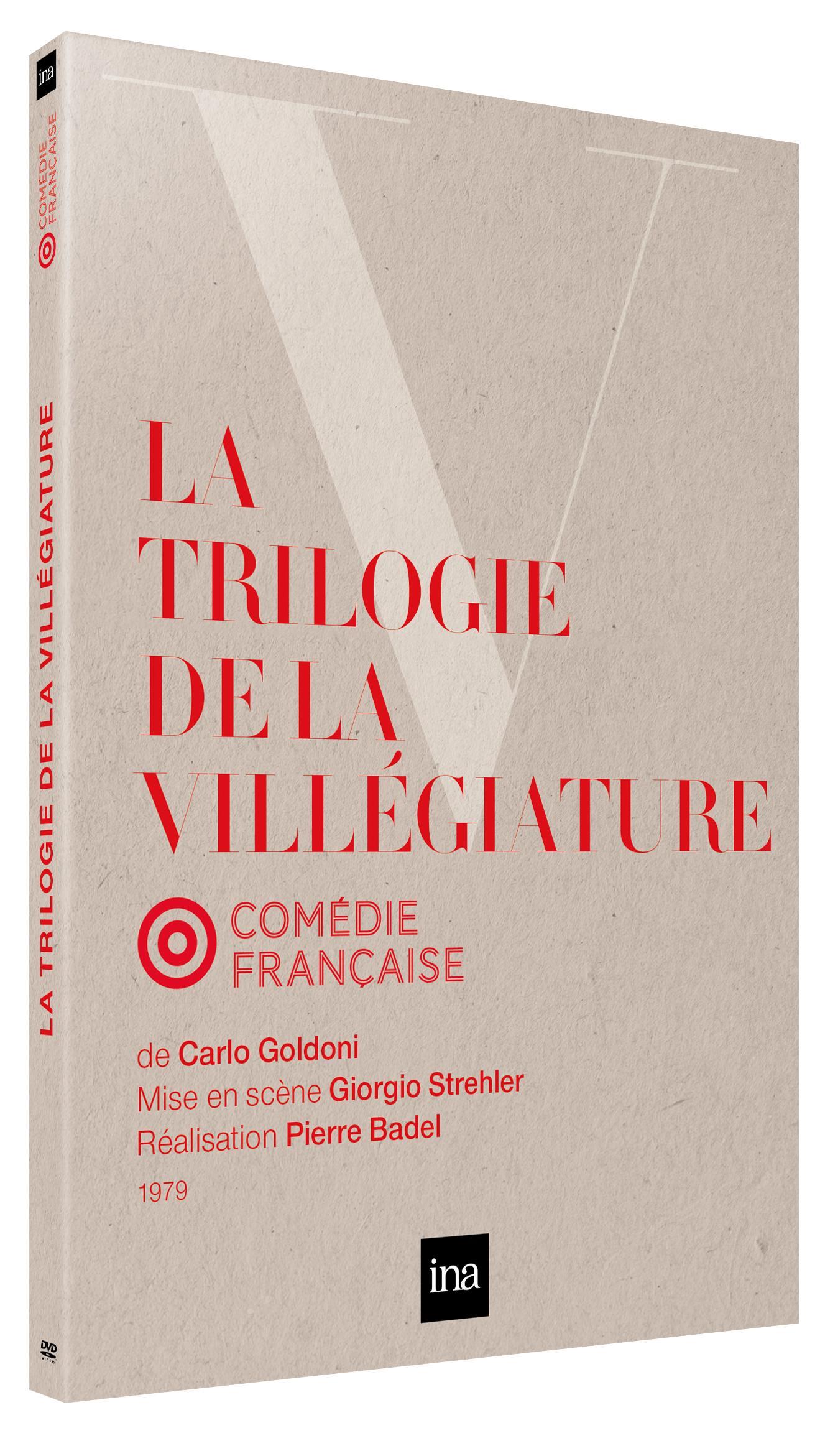 Trilogie de la villegiature (la) - 2 dvd