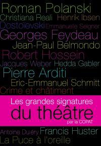 Coffret les grdes signatures  du theatre