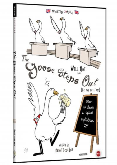 Goose steps out - dvd + livret digipack