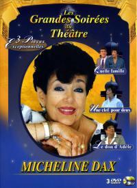 Coffret micheline dax - 3 dvd  les grandes soirees du theatre