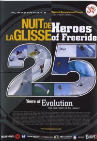 La nuit de la glisse - dvd  heroes of freeride 25 ans