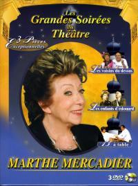 Coffret marthe mercadier-3 dvd  les grandes soirees du theatre