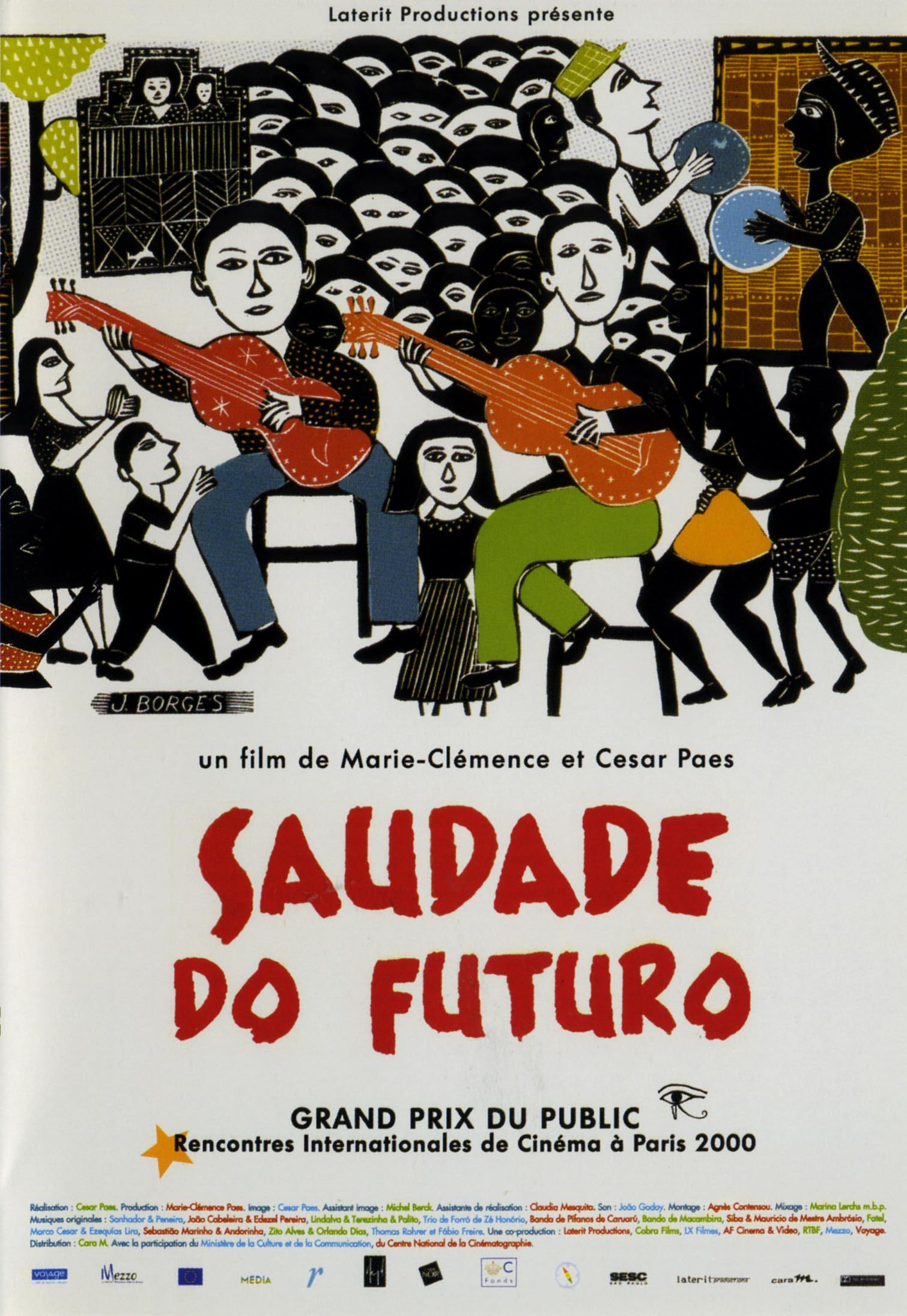 Saudade do futuro - dvd