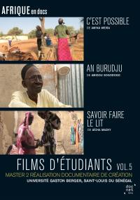 Films d'etudiants saint-louis du senegal v5 - dvd