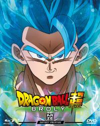 Dragon ball super broly - steelbook prestige - le film - dvd + brd