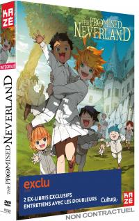 Promised neverland (the) - saison 1 - 4 dvd - exclusivite cultura