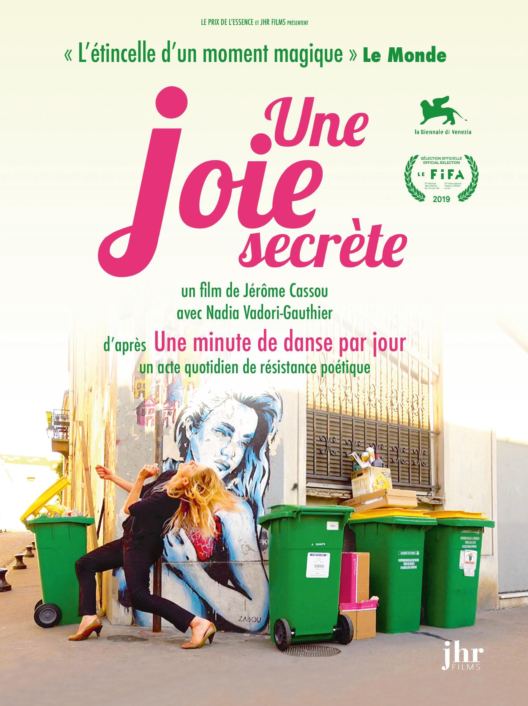 Une joie secrete - dvd