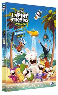 Lapins cretins invasion - s4 part 1 - dvd