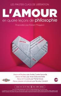 L'amour en quatre lecons philosophie - 3 dvd
