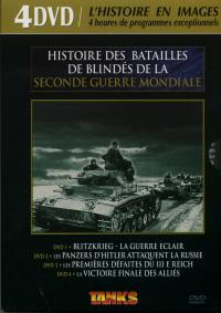 Histoire batailles tanks 4 dvd