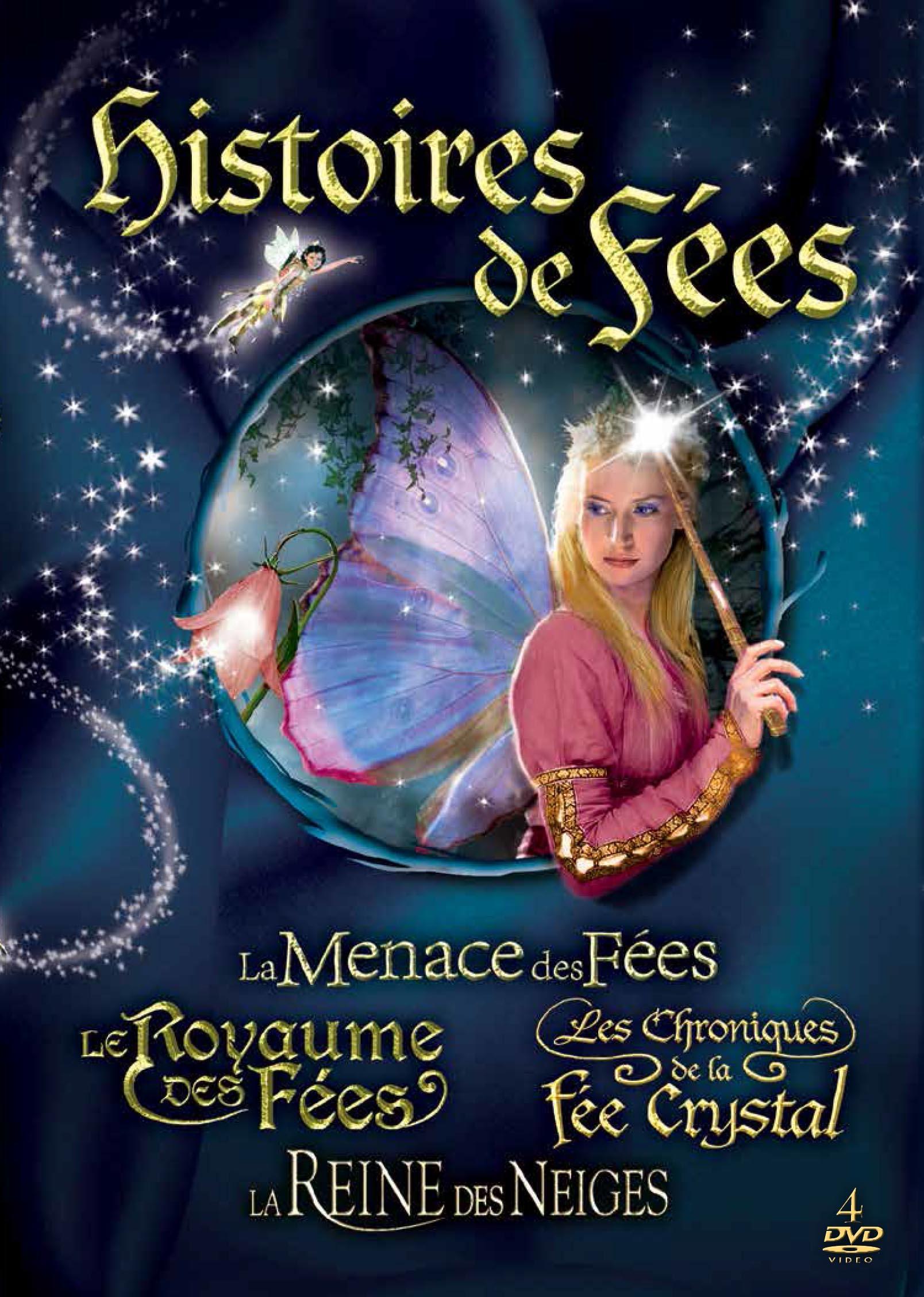 Histoires de fees - 4 dvd