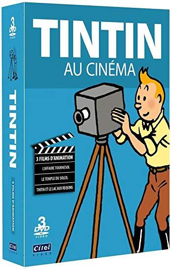 Tintin fait son cinema - 3 dvd