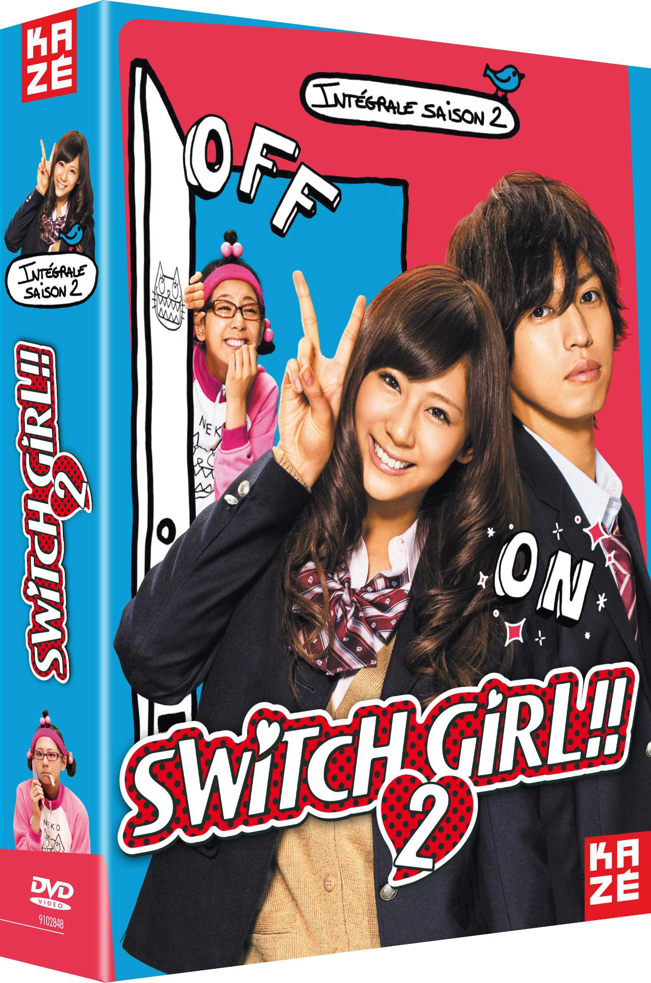 Switch girl - saison 2 - 2 dvd