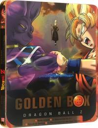Dragon ball z - golden box steelbook - 2 films + 2 oav - 3 dvd