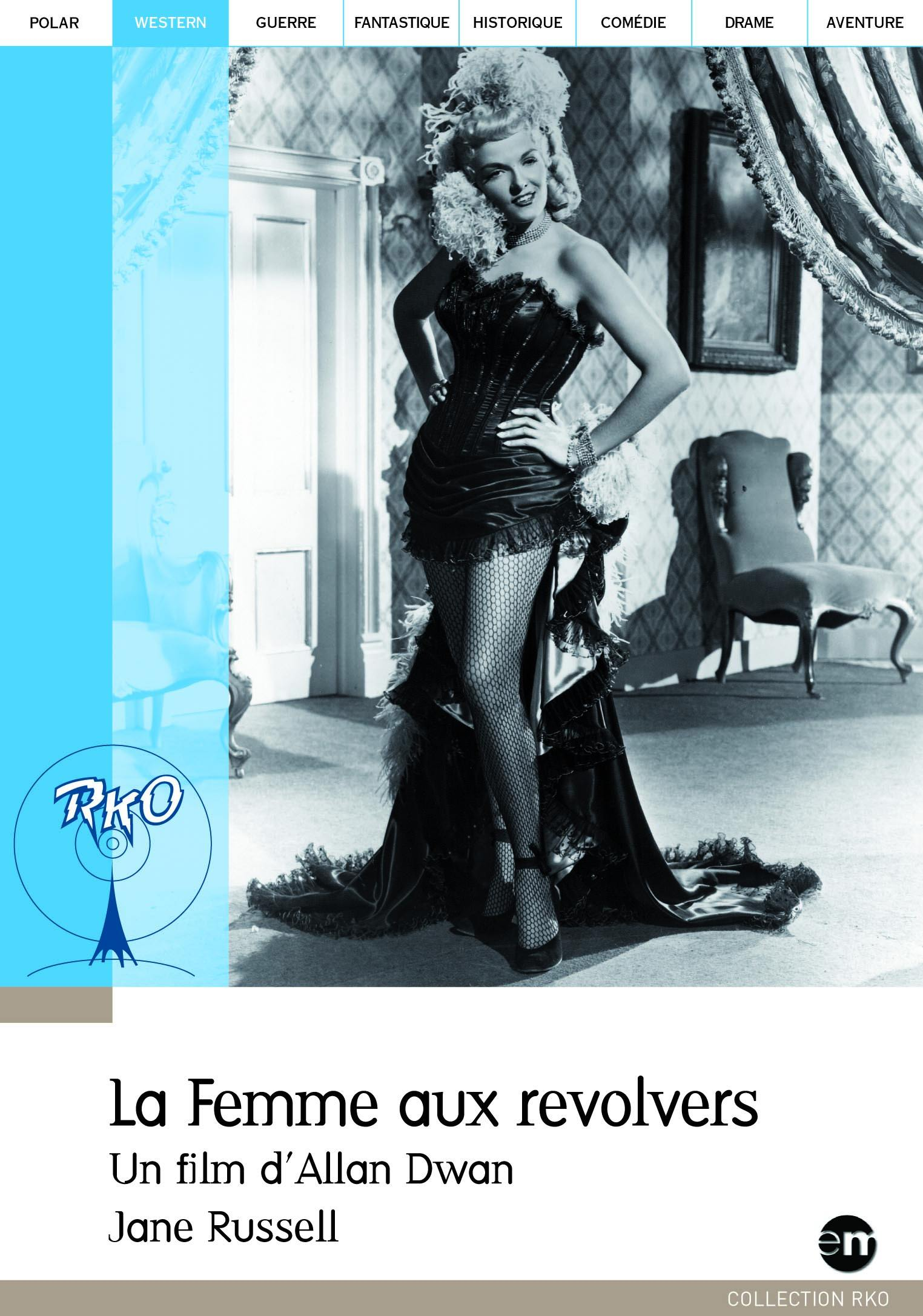 La femme aux revolvers - dvd  collection rko pocket