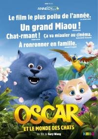 Oscar et le monde des chats - dvd