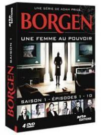 Borgen saison 1 - 4 dvd