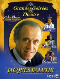 Coffret jacques balutin - 3dvd  les grandes soirees du theatre
