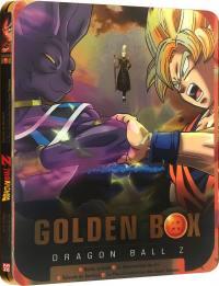 Dragon ball z - golden box steelbook - 2 films + 2 oav - 3 blu-ray
