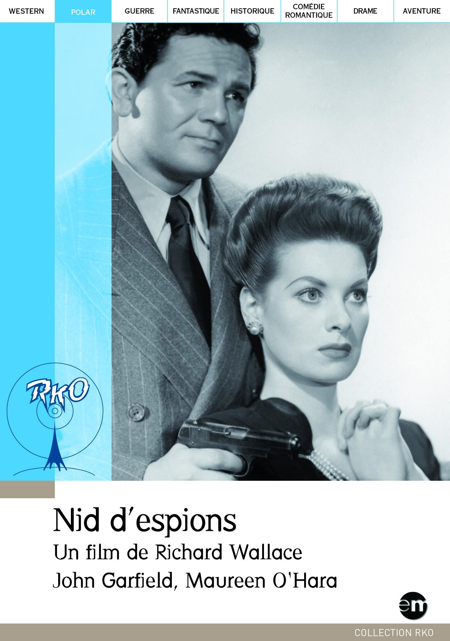 Nid d'espions - dvd  collection rko pocket