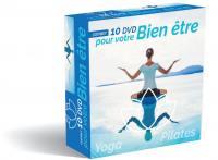 Bien etre - 8 dvd yoga pilates