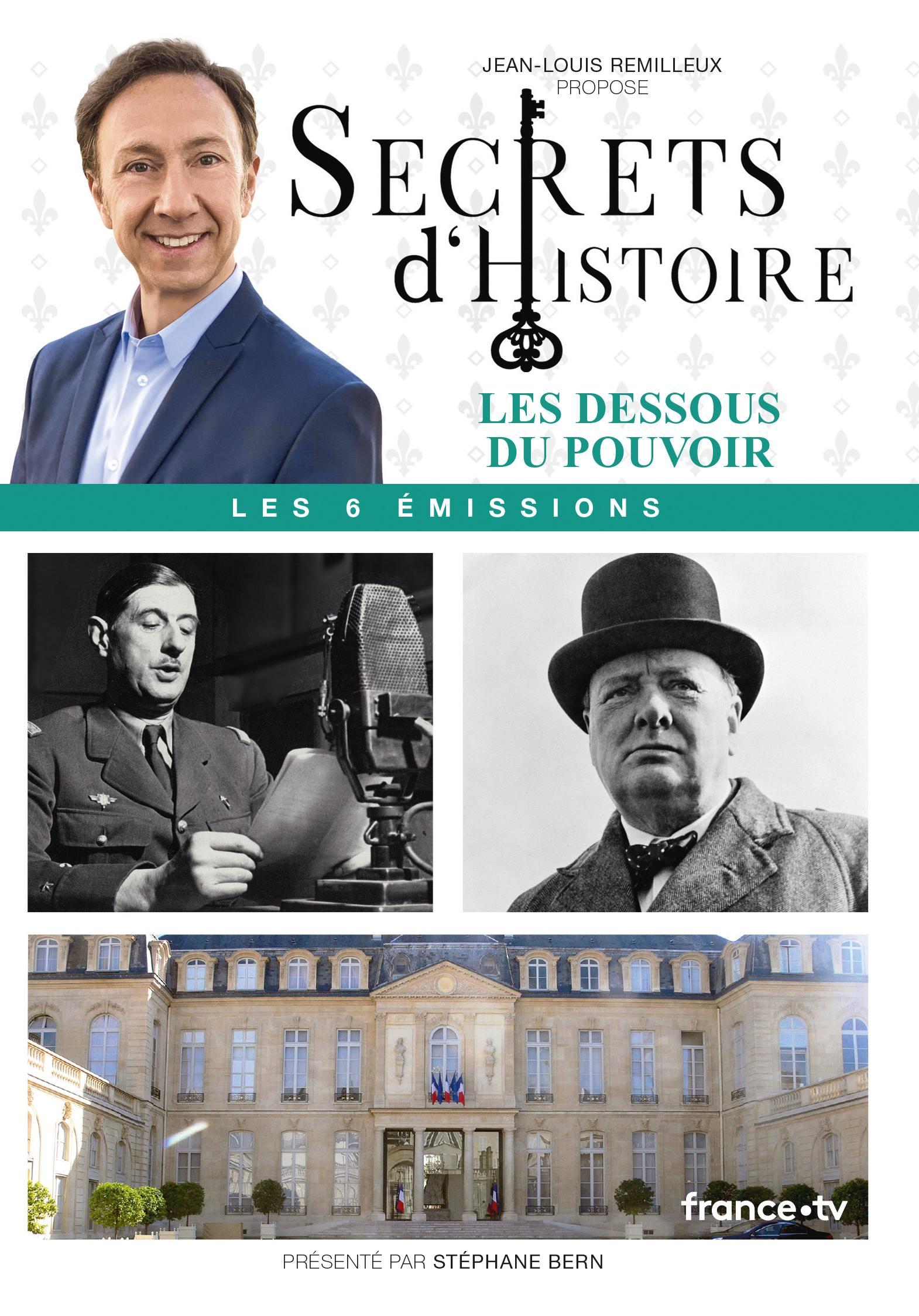 Secrets d'histoire - les dessous du pouvoir - 3 dvd