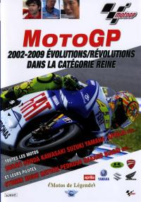 Moto gp - dvd  2002-2009 evolutions-revolu.