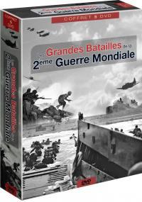 Grandes batailles de la 2nde guerre mondiale - 5 dvd