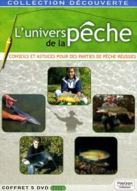 L'univers de la peche - 5 dvd