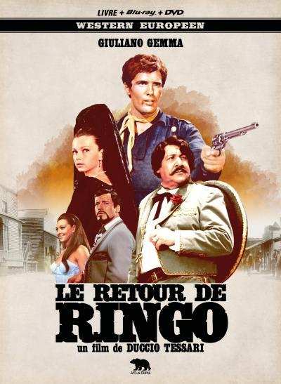 Retour de ringo (le) - combo dvd + blu-ray + livre - mediabook