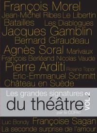 Coffret les grdes signatures 2  du theatre - 5 dvd