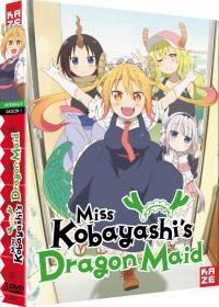 Miss kobayashi's dragon maid - saison 1 - 3 dvd
