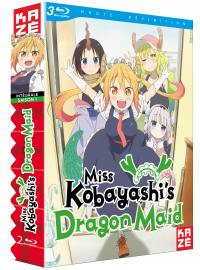 Miss kobayashi's dragon maid - saison 1 - 2 blu-ray