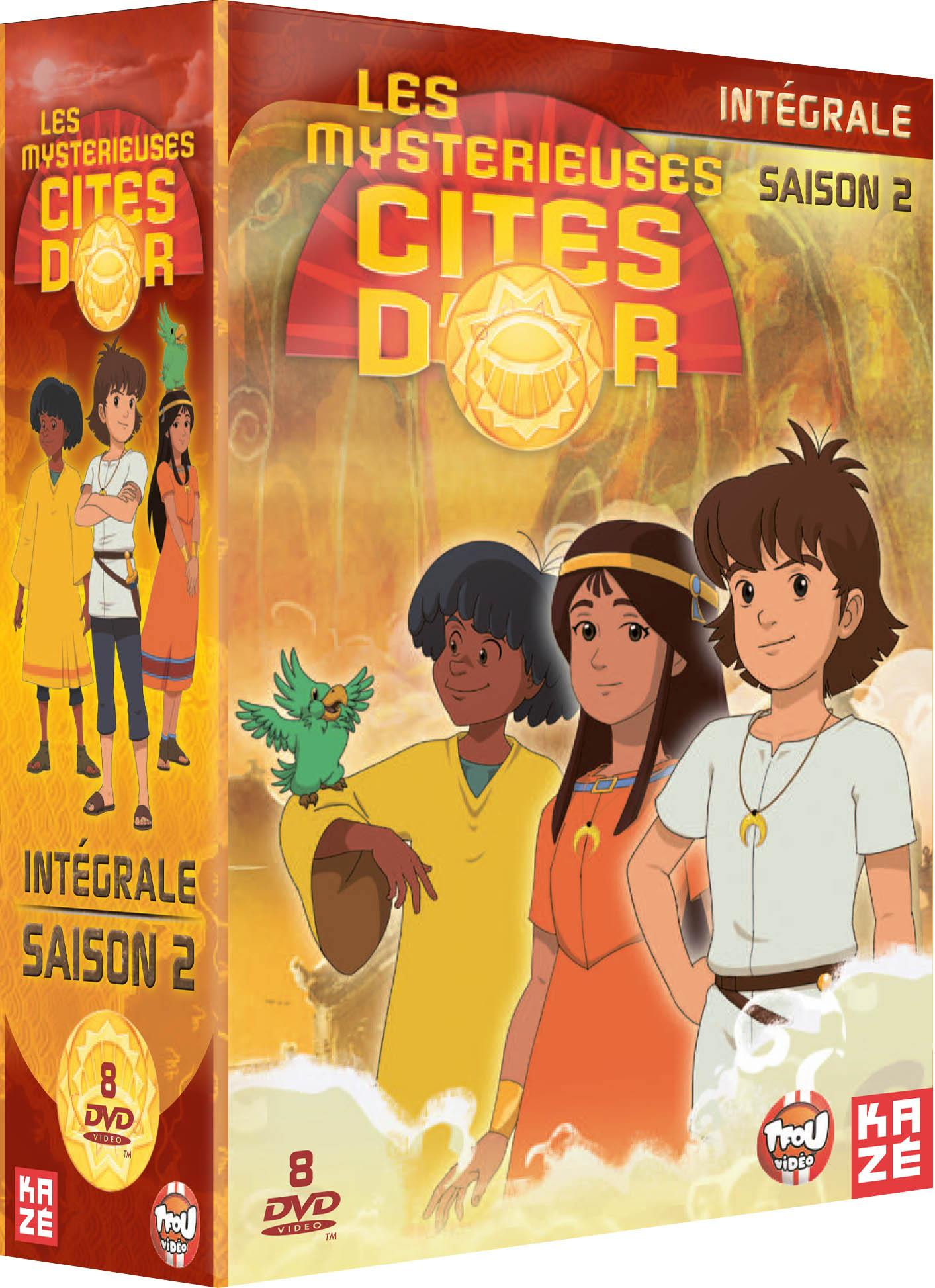 Mysterieuses cites d or (les) - saison 2 - 8 dvd - exclu sites manga