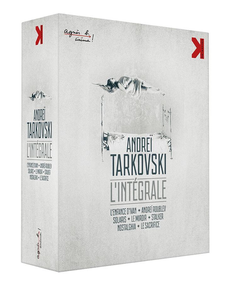Andrei tarkovski integrale version restauree - combo 7 blu-ray + 2 dvd