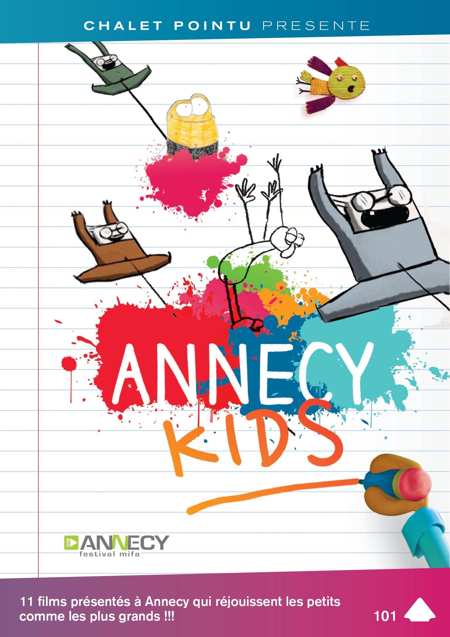 Annecy kids - dvd