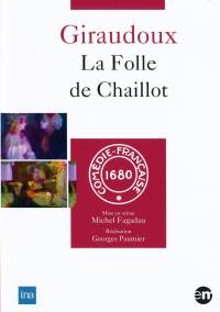 La folle de chaillot - dvd  comedie francaise