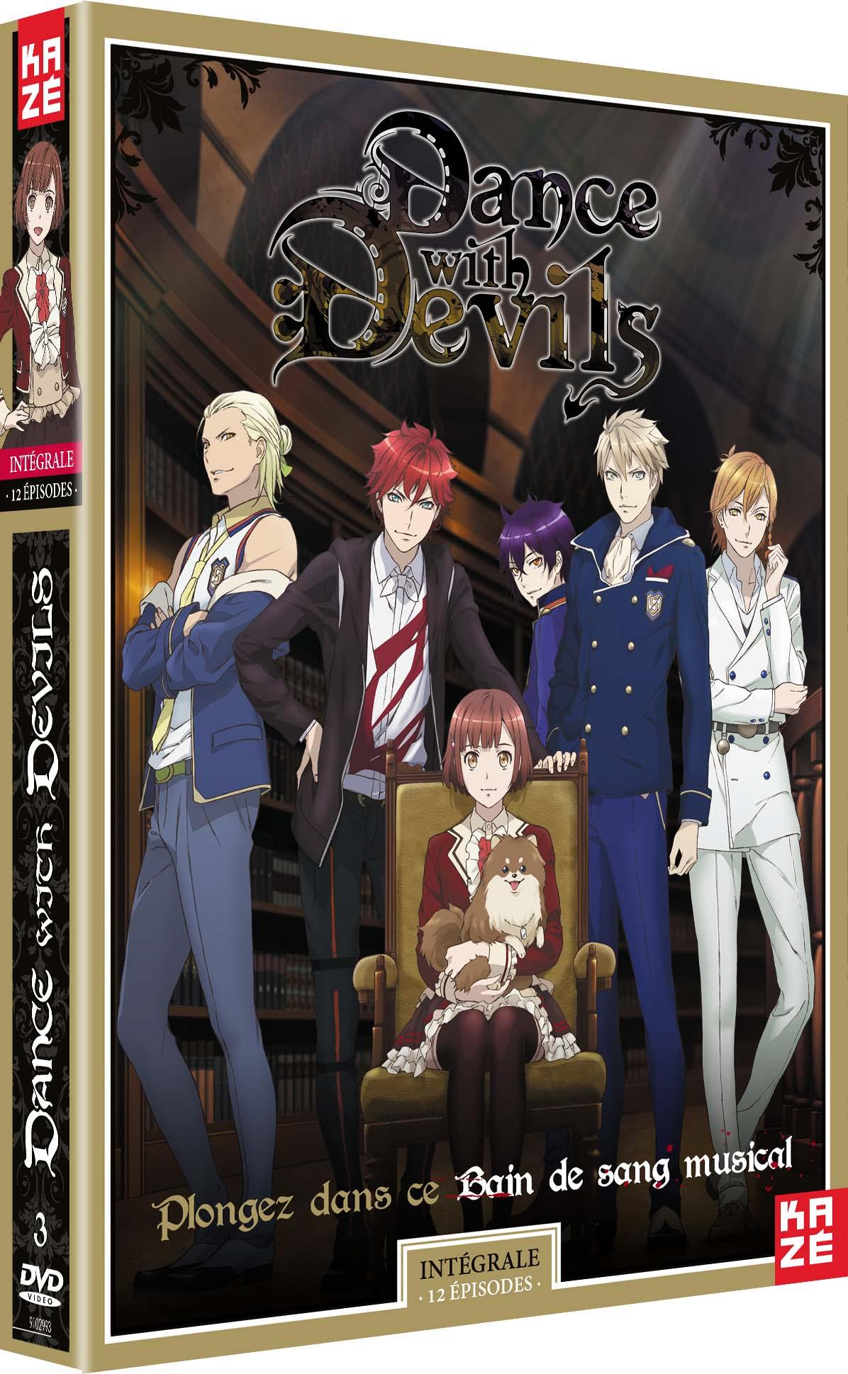 Dance with devils - integrale serie - 3 dvd