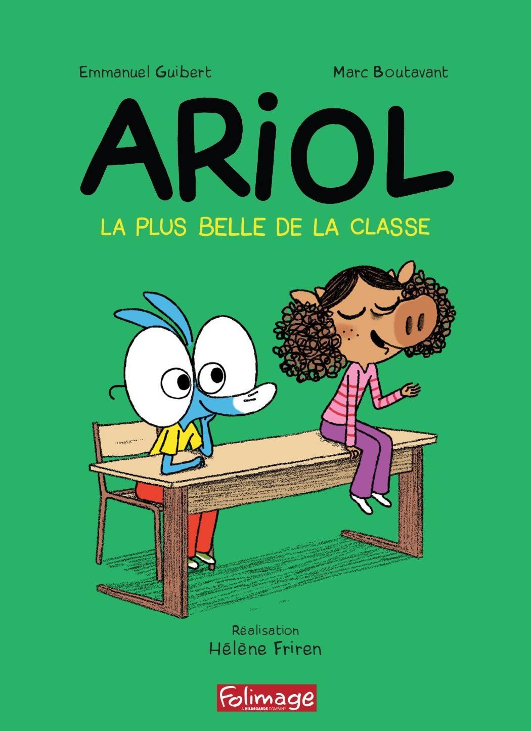 Ariol - la plus belle de la classe - dvd