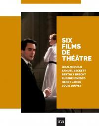 6 films de theatre - 6 dvd